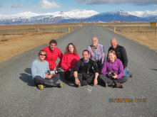 Group photo from March 2014 winter tour