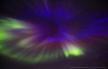 'Warp Speed Blue' - Aurora Borealis coronal hole