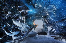 Breiðamerkurjökull, glacier, Iceland, ice cave,ice,cave,blue,2015,glacial,
