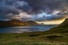 Gøtuvík inlet, Eysturoy, Faroe Islands