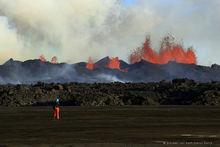 2014, Baugur, Bárðarbunga, Holuhraun, Iceland, crater, erupting, eruption, flow, lava