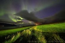 Svinavatn farm auroras, September
