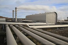 geothermal power plant on Reykjanes Pen.
