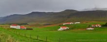 Autumn at a farm in northern Iceland