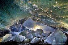 Fjalljökull,Fjalljökull glacier,Iceland,blue,cave,ceiling,clear,crystal,glacial,glacier,ice,ice cave,icecave,melting,otherworldly