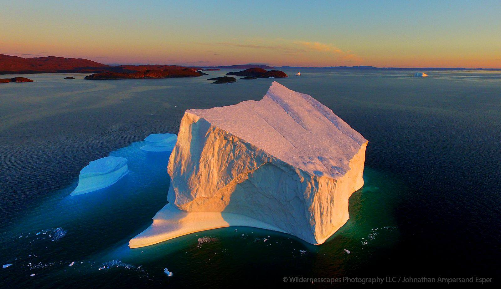 West Greenland Icebergs Amp Arctic Sunsets Photography