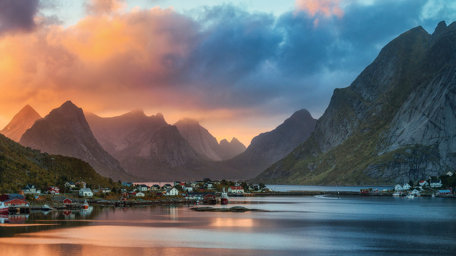 Photography tour Sunset Northern Norway
